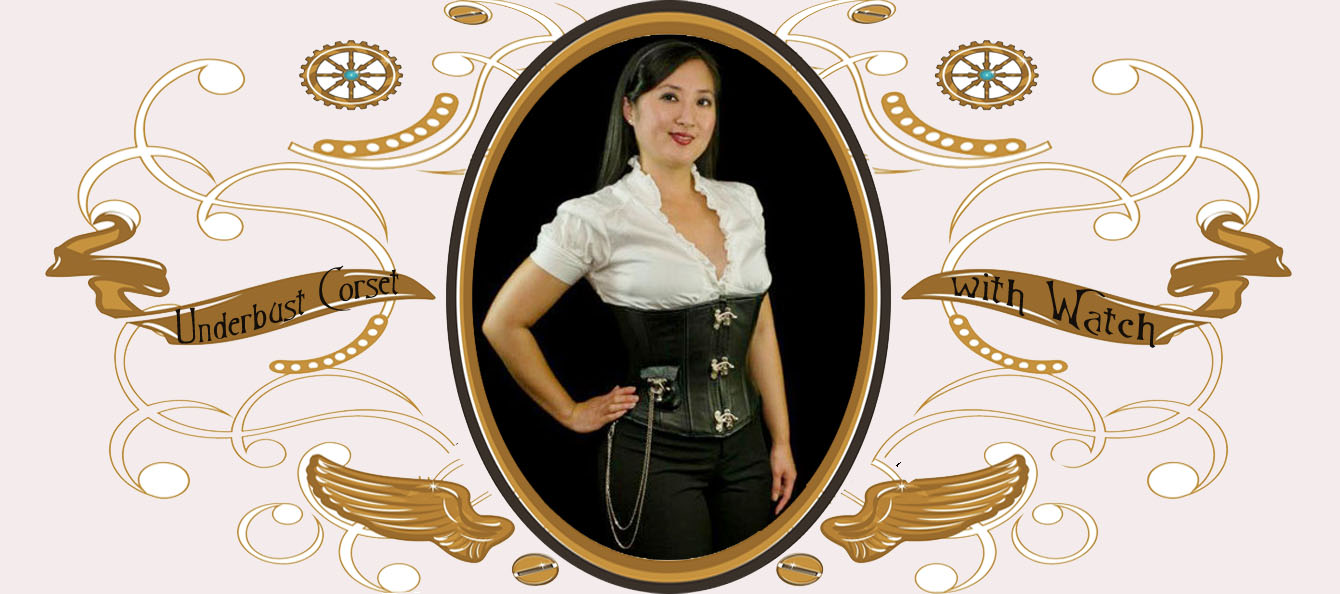 Underbust with Pocket Watch