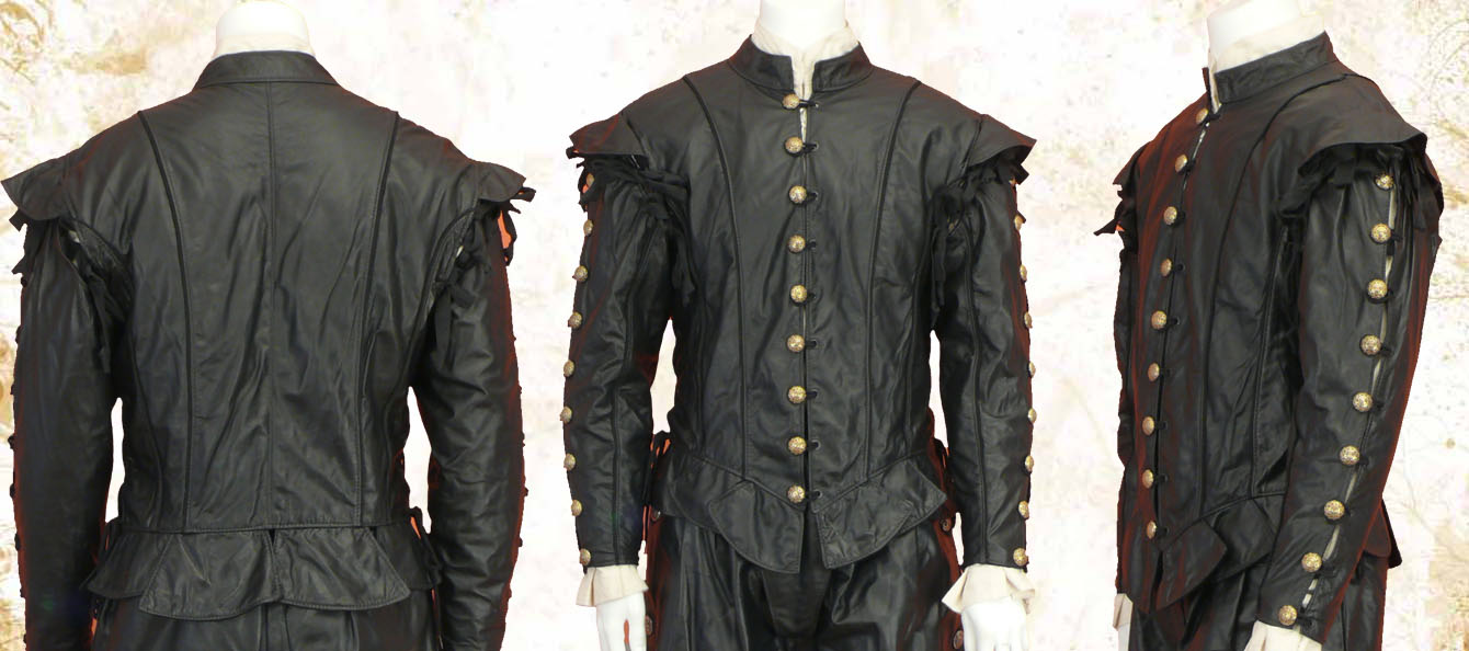 Leather Marlowe Doublet