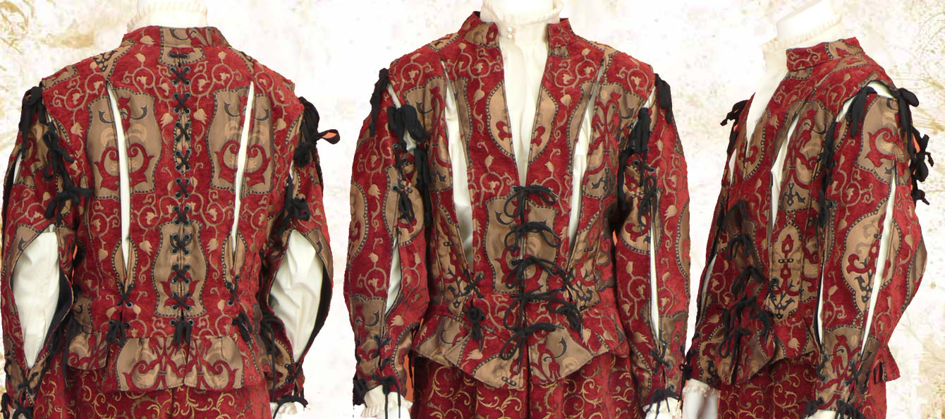 The Tragedian doublet - fabric