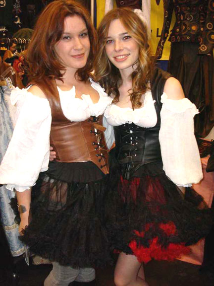 Leather Buckle Underbust Bodice picture