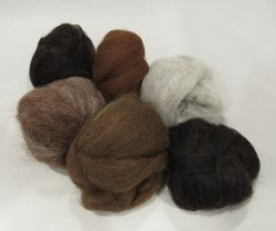 Felting Kit of Natural Colors (p-84) picture
