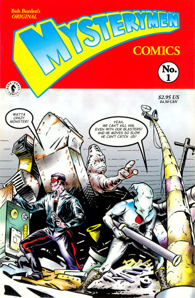 MYSTERYMEN Comics SET (#1-4)