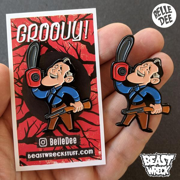 RETRO ASH Enamel Pin