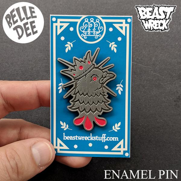 MESSENGER OF FATE Enamel Pin