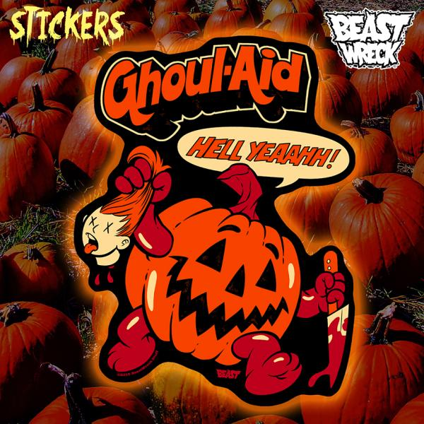 GHOUL-AID Stickers