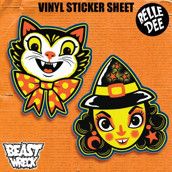 HALLOWEEN PALS Sticker Sheet