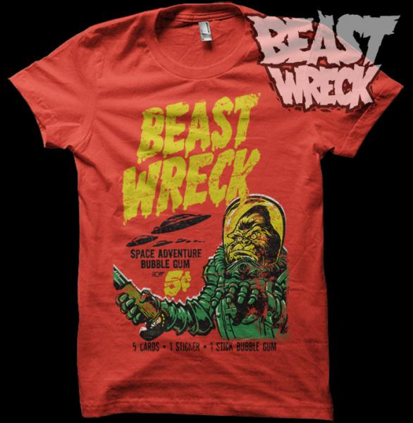 BEASTWRECK ATTACKS T-Shirts