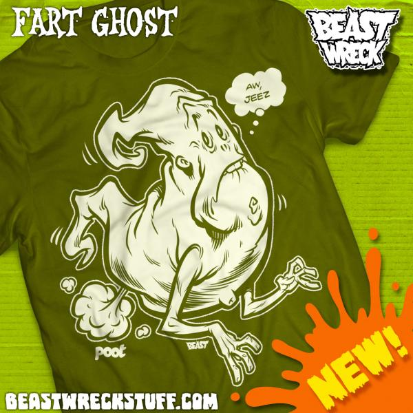 FART GHOST T-Shirt