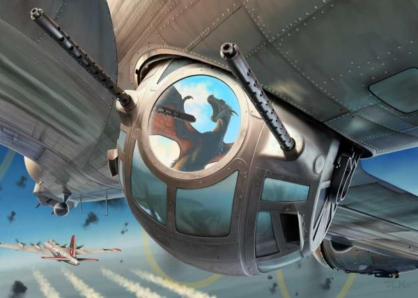 Face the Dragon B-17