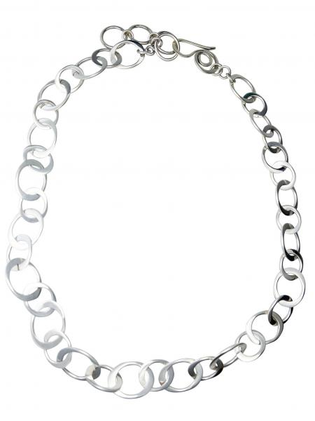 Handcrafted Chunky Sterling Silver Chain