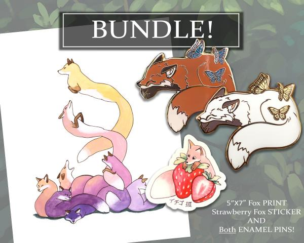 Fox BUNDLE! Signed