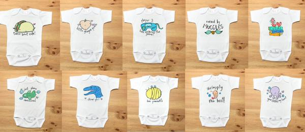 Onesie Bundle 3 for $36