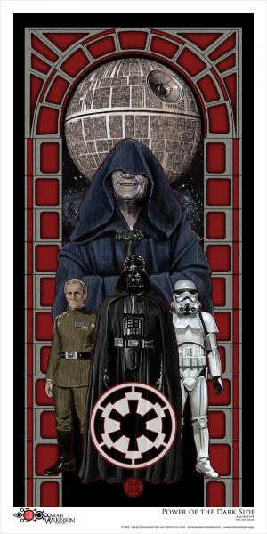 """Power Of The Dark Side"" Archival Print"