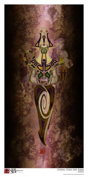 """Osiris"" archival print picture"