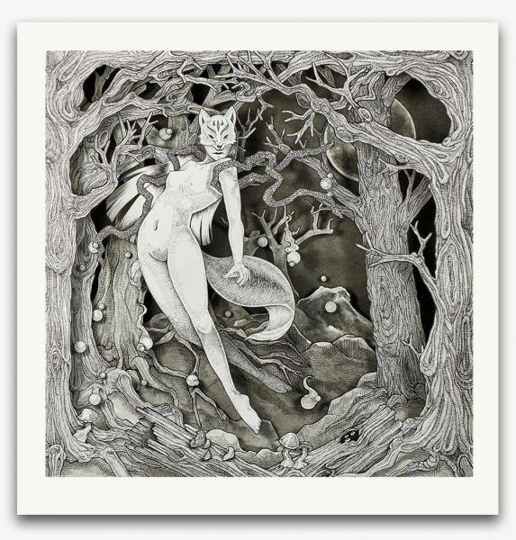 Kitsune-Ken limited edition print