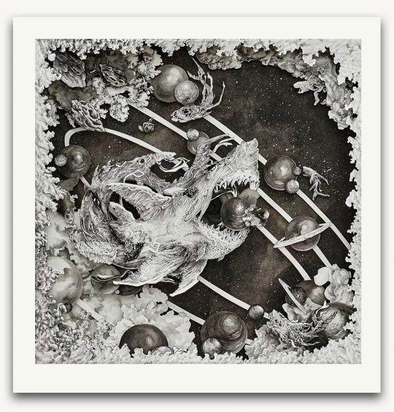 Feeding Frenzy limited edition print