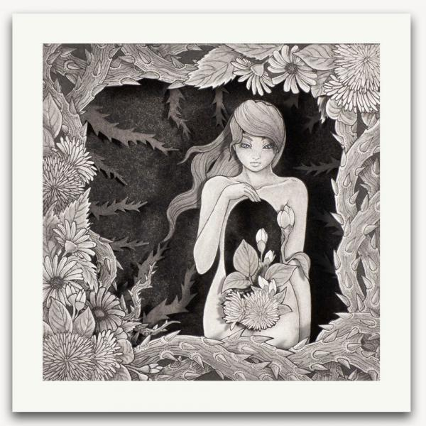Garden of Flora limited edition print