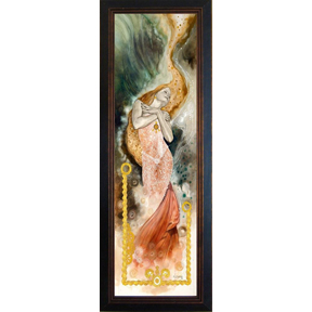 ESSENCE (soul)- Beautiful Framed Giclee on canvas