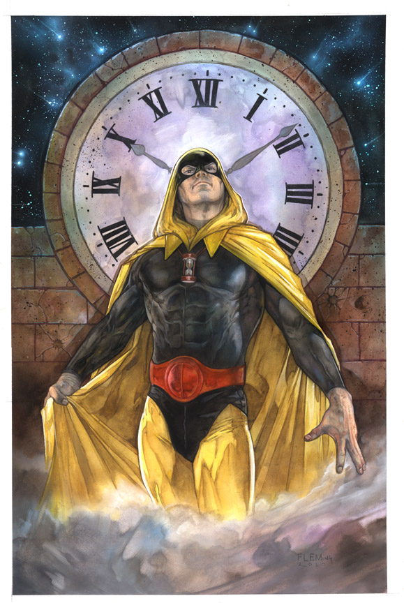HOURMAN signed print