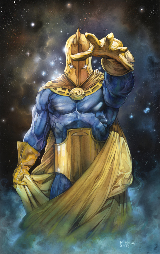 Doctor Fate signed print