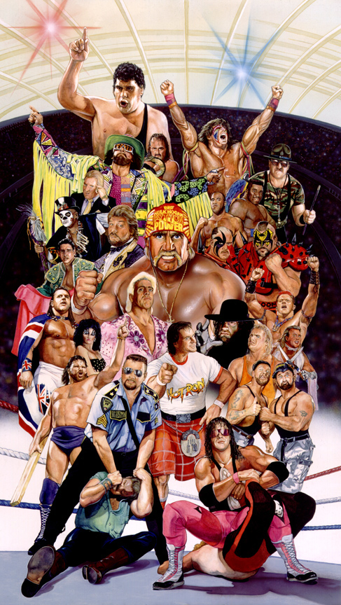 WWE LEGENDS print