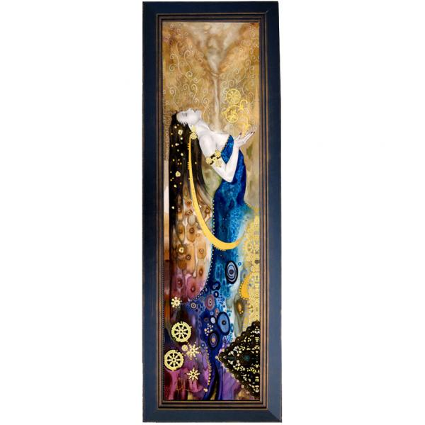 Spirit & Life framed giclee on canvas picture