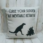 Curse Your Sudden But Inevitable Betrayal Small Pillow