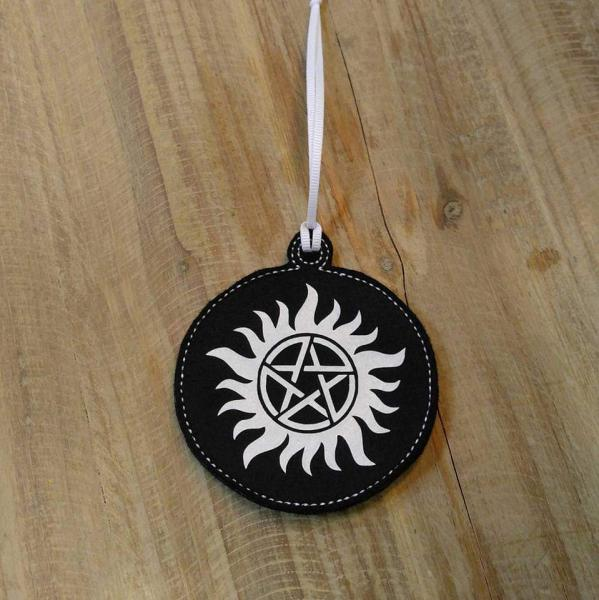 Supernatural Antipossession Felt Ornament