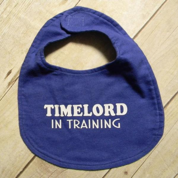 Timelord In Training Doctor Who Bib