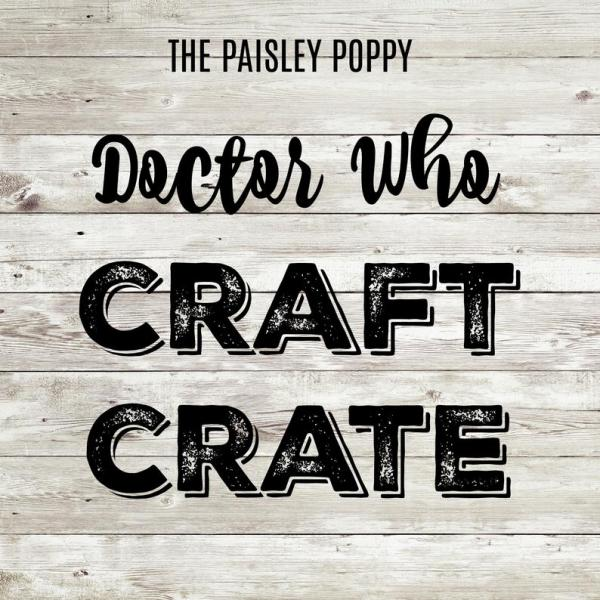 Doctor Who Craft Crate Mystery Box
