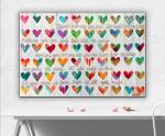 All you need is LOVE canvas giclee print 20x30