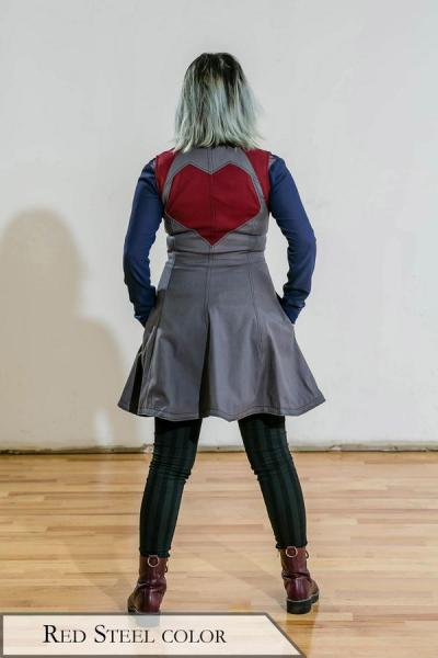 Automata Vest [Red Steel Color]