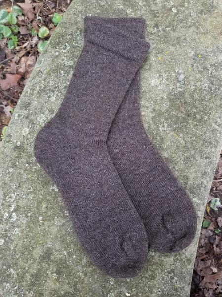 1910 Shepherd Socks-Natural Shaela--Men's size 10-12