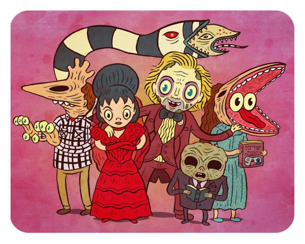 """Beetlejuice Wedding"" 8 x 10 print"