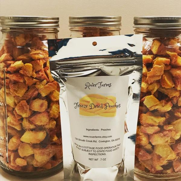 Freeze Dried Peaches LOCAL PICK UP ONLY