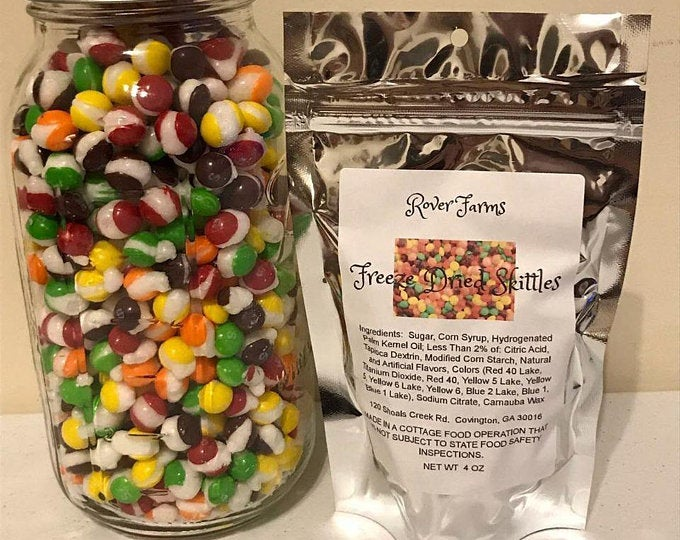 Freeze Dried Skittles LOCAL PICK UP ONLY