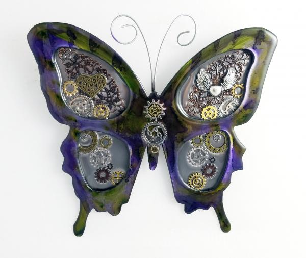 Butterfly (Green/purple)