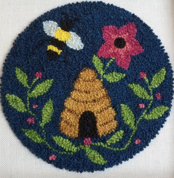 Bee Hive Chair Pad