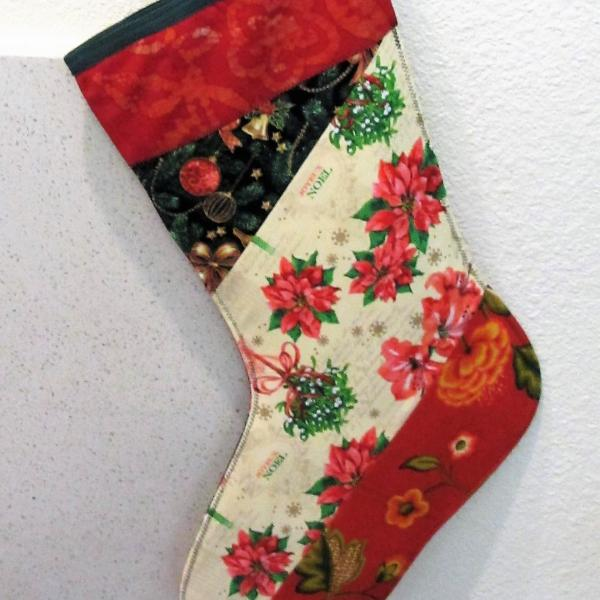 Patchwork Holiday Stocking picture