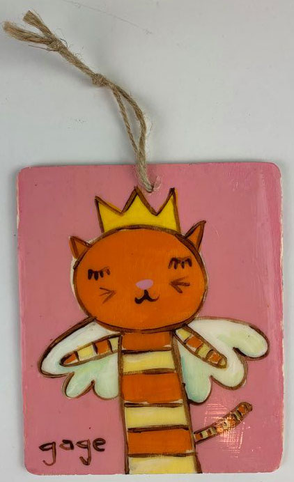 Kitty Angel Ornament
