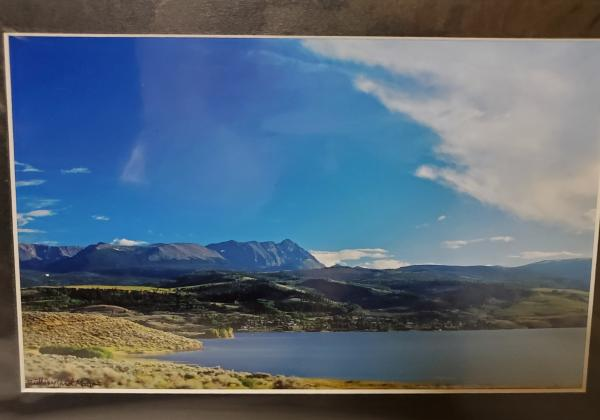 "9x12 Matted Print - ""Mountains of Colorado 4"""