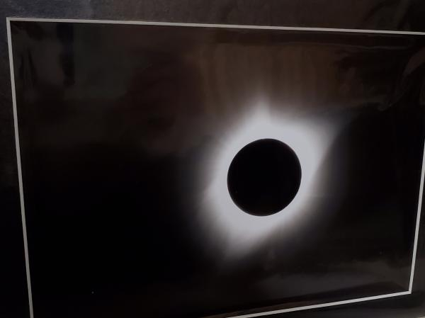 "9x12 Matted Print - ""Totality 2"" picture"