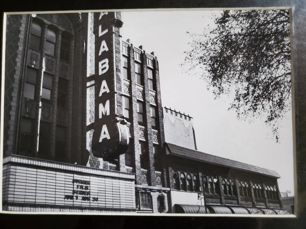 "11x14 Matted Print - ""Alabama Theatre 2"""