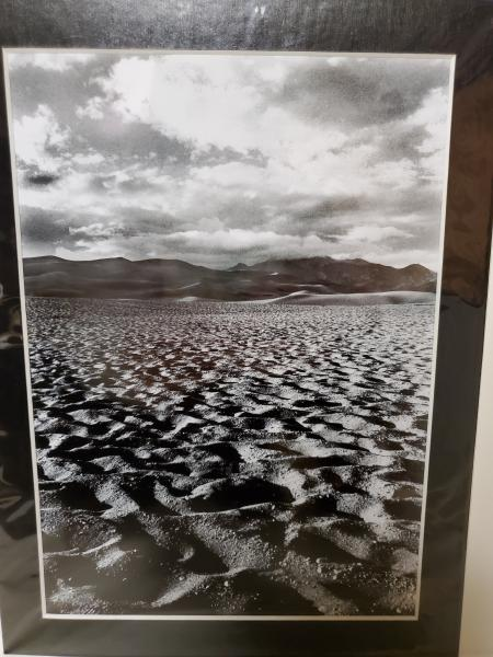 "9x12 Matted Print - ""Mountains in the Sand 2"":"