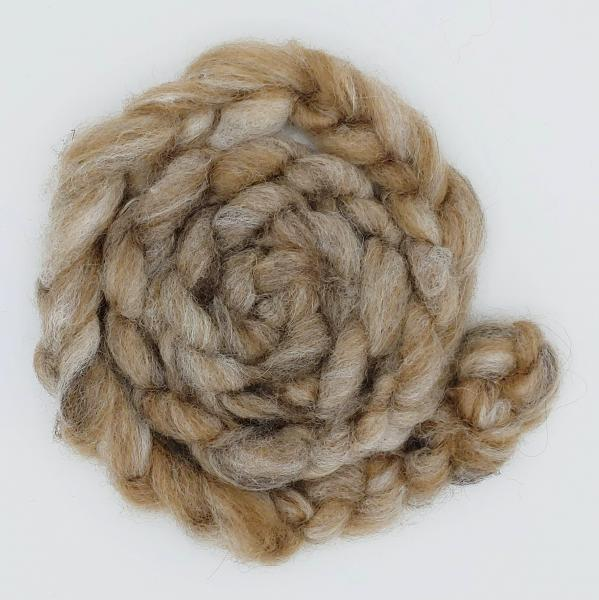 """Big Muddy"" Finnsheep/Alpaca Roving - sold by the ounce"