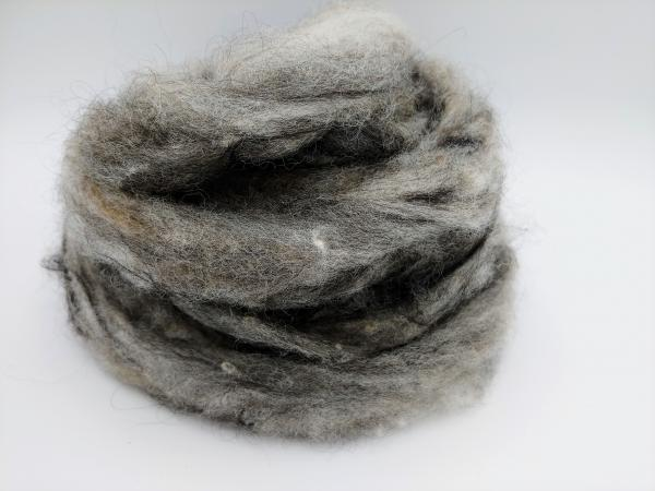 """Python"" Finnsheep, Alpaca and Suri Alpaca Blend Roving - sold by the ounce"