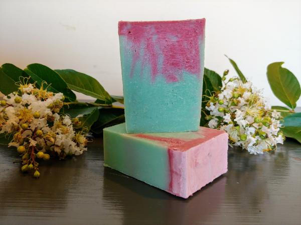Tomato Leaf Goats Milk Soap