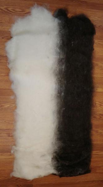 8oz Finnsheep and Alpaca Blend Batt