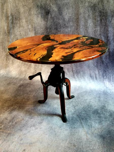 Mesquite End Table (crank)