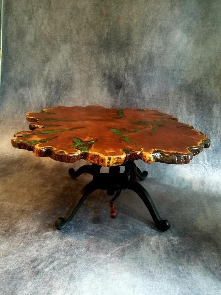Mesquite Burl Coffee Table